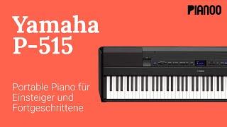 Digitalpiano für Einsteiger und Fortgeschrittene - Test: Yamaha P-515
