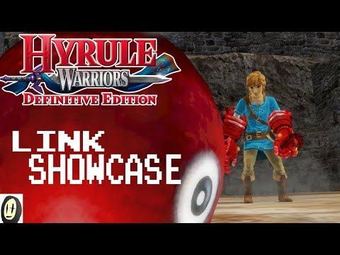 Hyrule Warriors Definitive Edition - Link Gauntlets Showcase (Lv.4+ Weapon)