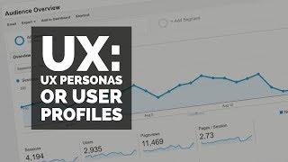 UX Personas or user profiles - UX design course [10/29]