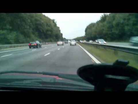 Fleet Hampshire to Surbiton, driving timelapse