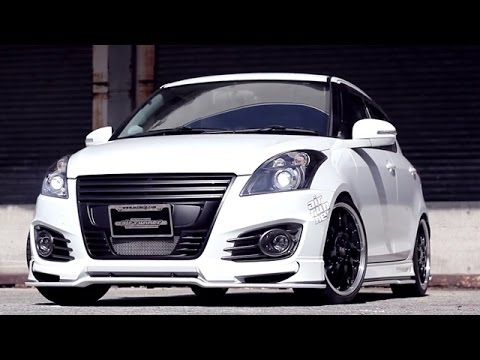 suzuki swift sport with beli kit from japan looks hotter. Black Bedroom Furniture Sets. Home Design Ideas