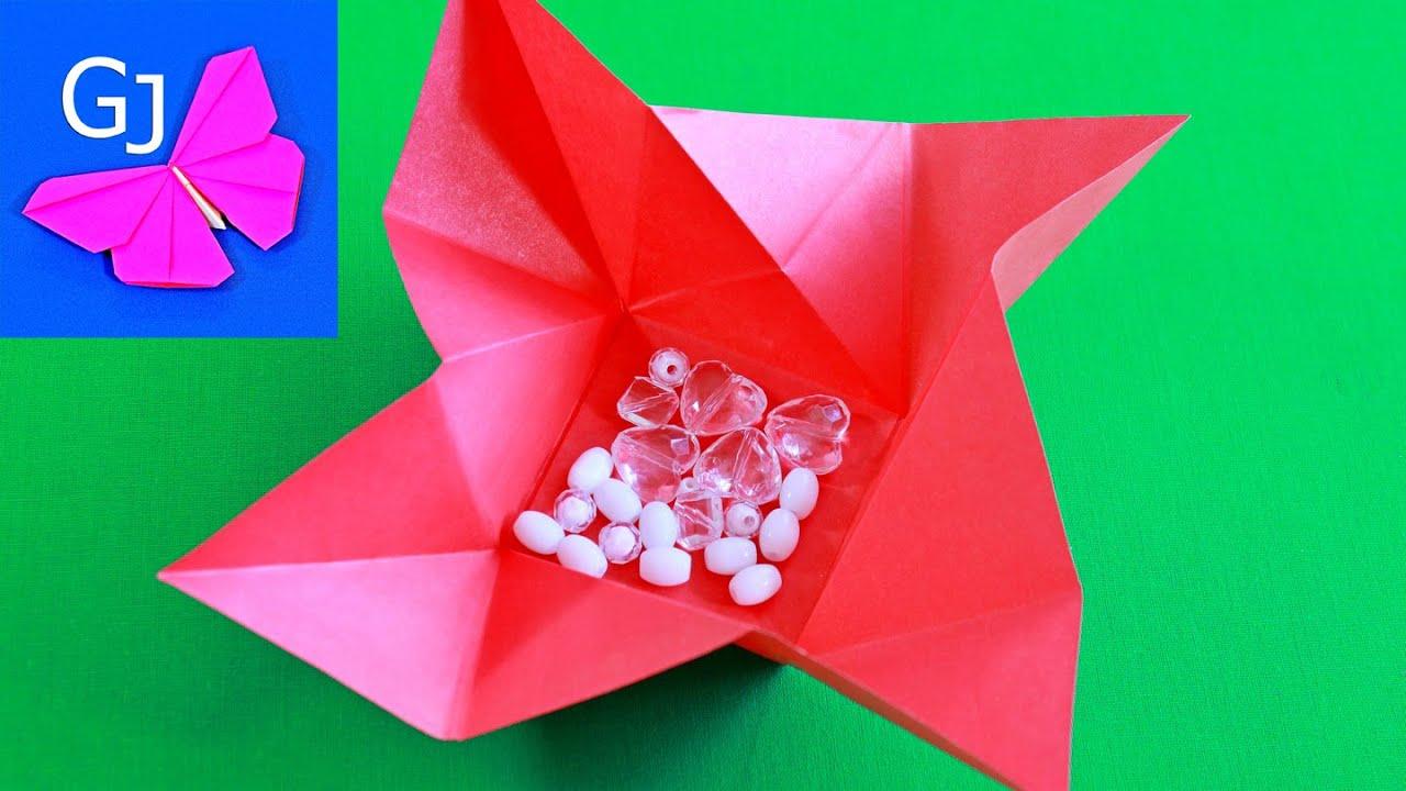 Оригами конверт своими руками из бумаги