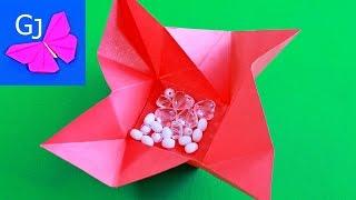 Оригами конверт с сюрпризом