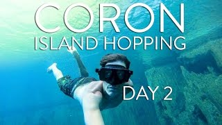 CORON ISLAND HOPPING VLOG DAY 2: THE PHILIPPINES