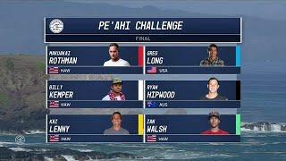 2017 Pe´ahi Challenge: Final