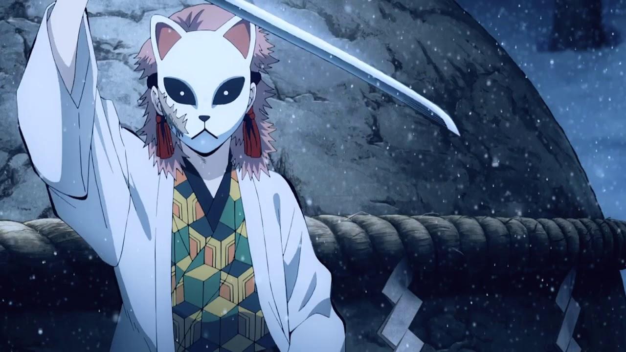 Гифки из аниме клинок рассекающий демонов