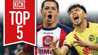 Top 5 Fiercest Clásicos in Liga MX