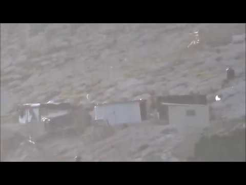 Illegal Arab Construction Across From Maale Adumim 25 Kislev 5777