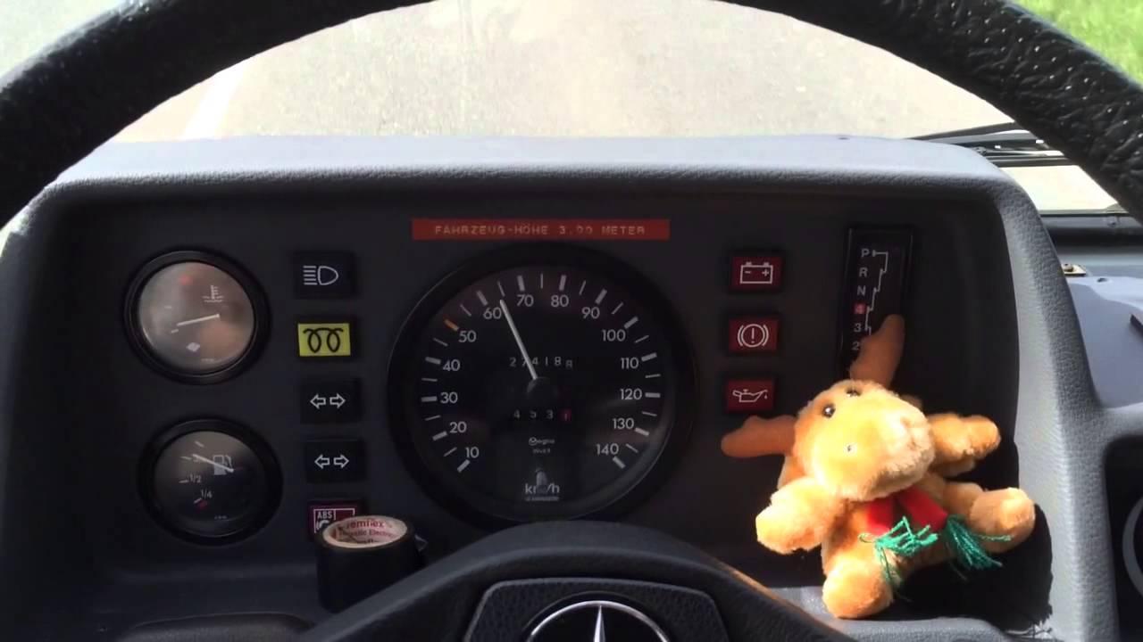 Mercedes 310D T1 Automatik 25 80kmh YouTube