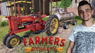 Farmer's Dynasty #5 Beczka za pomoc Frankiemu i Naprawa dachu domu!! MafiaSolecTeam