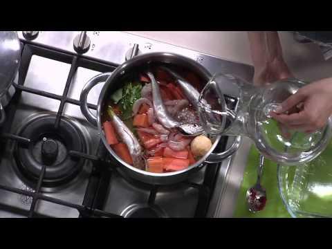 Choumicha : Soupe de poisson / شميشة : شوربة بالخضر والسمك