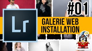 Lightroom Web 01 - Installation d'une galerie WEB