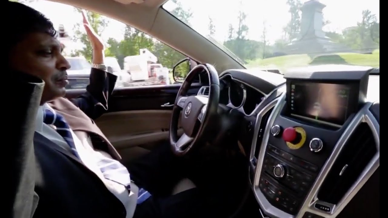 Watch a self-driving car in action - YouTube