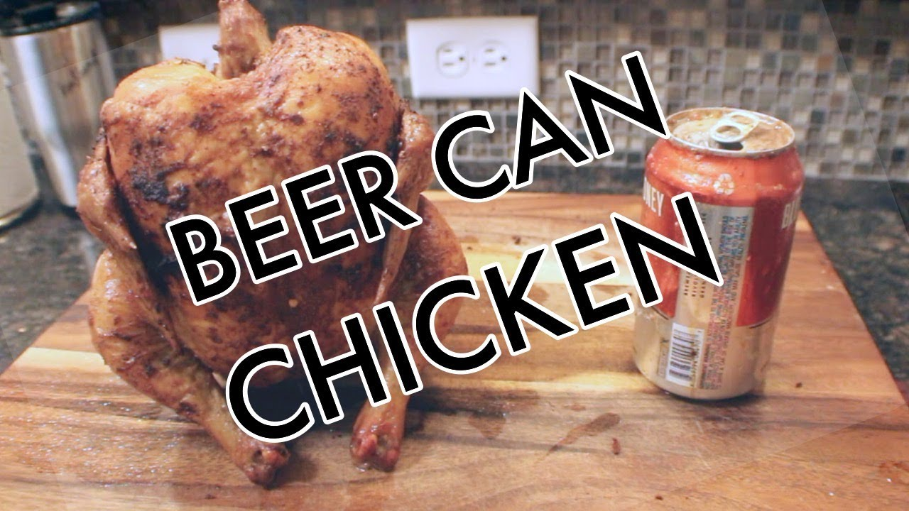 Oven Beer Can Chicken 4th Of July Special Recipe Youtube
