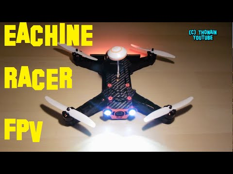 EACHINE RACER 250 FPV QUADRI - UNBOXING + REVIEW - eturbine TB250