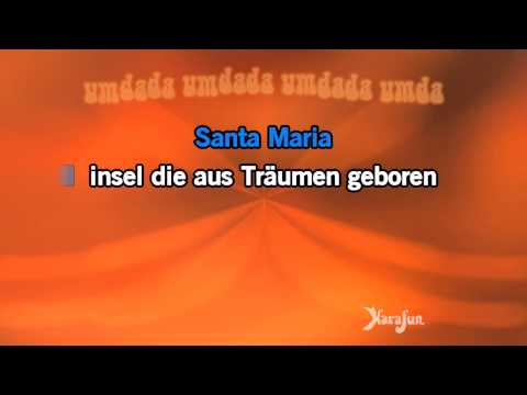 Karaoke Santa Maria - Roland Kaiser *