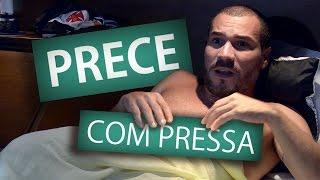 PRECE COM PRESSA (Humor e Espiritismo)