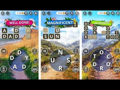 Word Land - Crosswords Gamplay Level World 1, 2