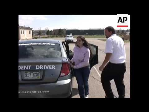 Masterdrive in Englewood, Colorado and the Colorado Center for the Blind teamed up to give blind stu