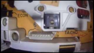 видео BMW e36 Разборка и ремонт приборной панели