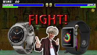 Apple Watch или Garmin watch, что лучше?