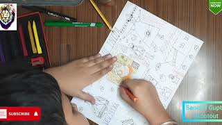 Festivals of India - Kala Utsav Drawing Competition - 3rd Standard 8 Years