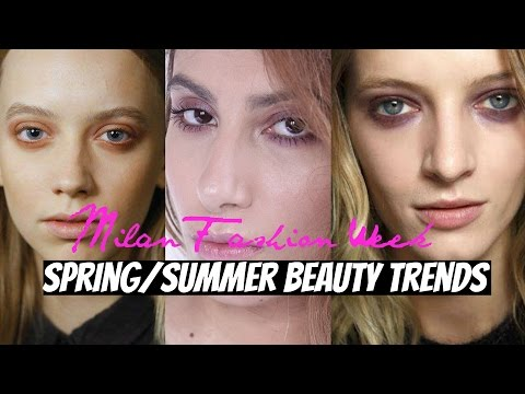 BEAUTY TRENDS SPRING/SUMMER 16 (MILAN FASHION WEEK) | TRENDING EP. 11 | FARAH ASIF