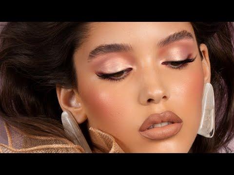 How-To Tutorial: Everyday Soft Glam Look - RETRO Eyeshadow Palette | Natasha Denona Makeup