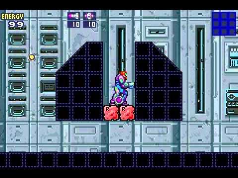Metroid Fusion - Unused Rooms