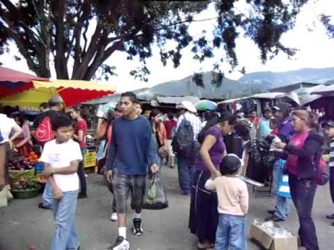 Walking Through The Antigua Guatemala Market