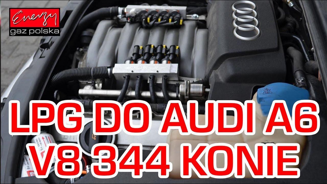 Montaż Lpg Audi A6 Z 42 V8 344km W Energy Gaz Polska Na Gaz Lpg Brc