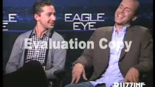 "Shia LaBeouf & DJ Caruso For ""Eagle Eye"""