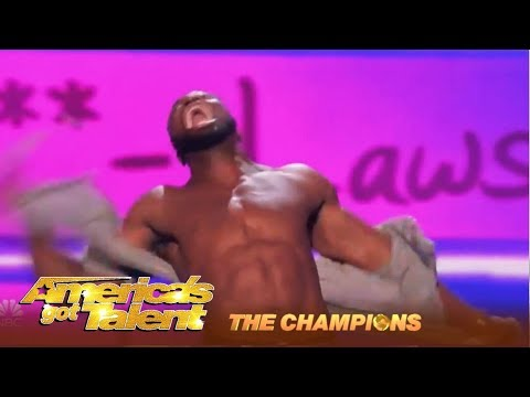 Preacher Lawson: Comedian Goes ALL OUT For The World Title Win! | AGT Champions