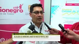 Alcaldía de Rionegro lanzó su nuevo portal web