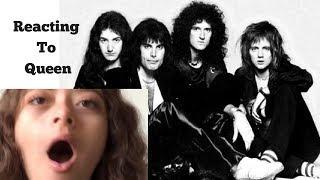 Bohemian Rhapsody Movie Trailer Reaction (having a mental breakdown)