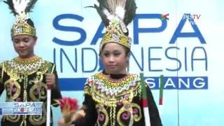 Tarian Gantar Alak Antar Indonesia ke Kancah Dunia