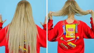 COOL HAIR HACKS AND TIPS! Funny Hair Situations And Problems by Mariana ZD