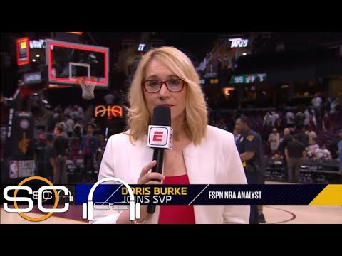 Doris Burke: 'I feel very lucky' to be witnessing LeBron James play like  this   SC with SVP   ESPN