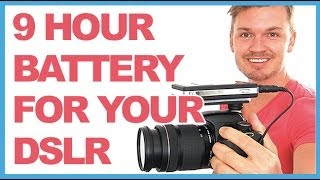 Increase Your DSLR Camera Battery Life To 9 Hours! // Chris Winter