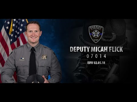 Funeral for Deputy Micah Flick