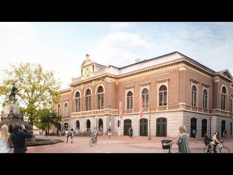 RUG / Campus Fryslân   Verbouwplannen Beursgebouw in Leeuwarden
