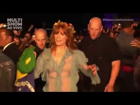 Florence And The Machine - Rabbit Heart (Raise It Up) - Live Lollapalooza 2016 Brazil