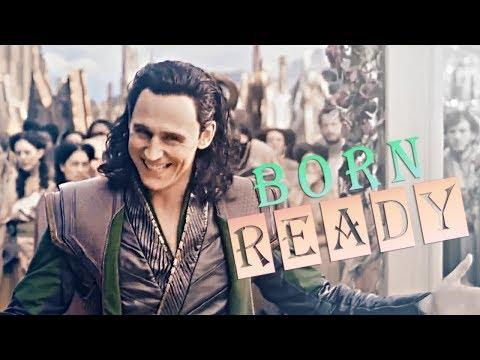 » born ready (loki laufeyson)