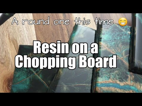 359 - Resin Art / Chopping Board / Tile Coasters