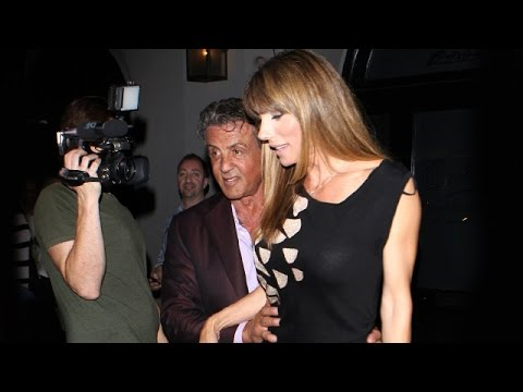 Sly Stallone Treats Lovely Wife Jennifer Flavin To B-Day Dinner At Craig's from YouTube · Duration:  2 minutes 9 seconds