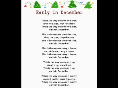 Early In December (Christmas Rhymes) - YouTube