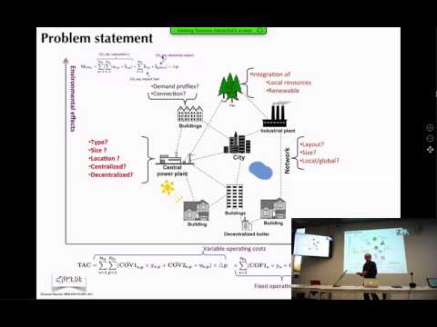 Urban energy system design