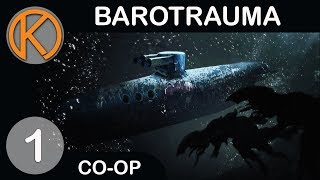 Barotrauma is a multiplayer submarine game set under the sea where traitors will try to kill you. Yo.