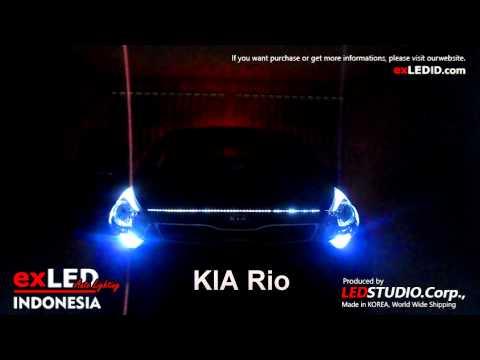 KIA Rio exLED Panel Lighting 2 Way