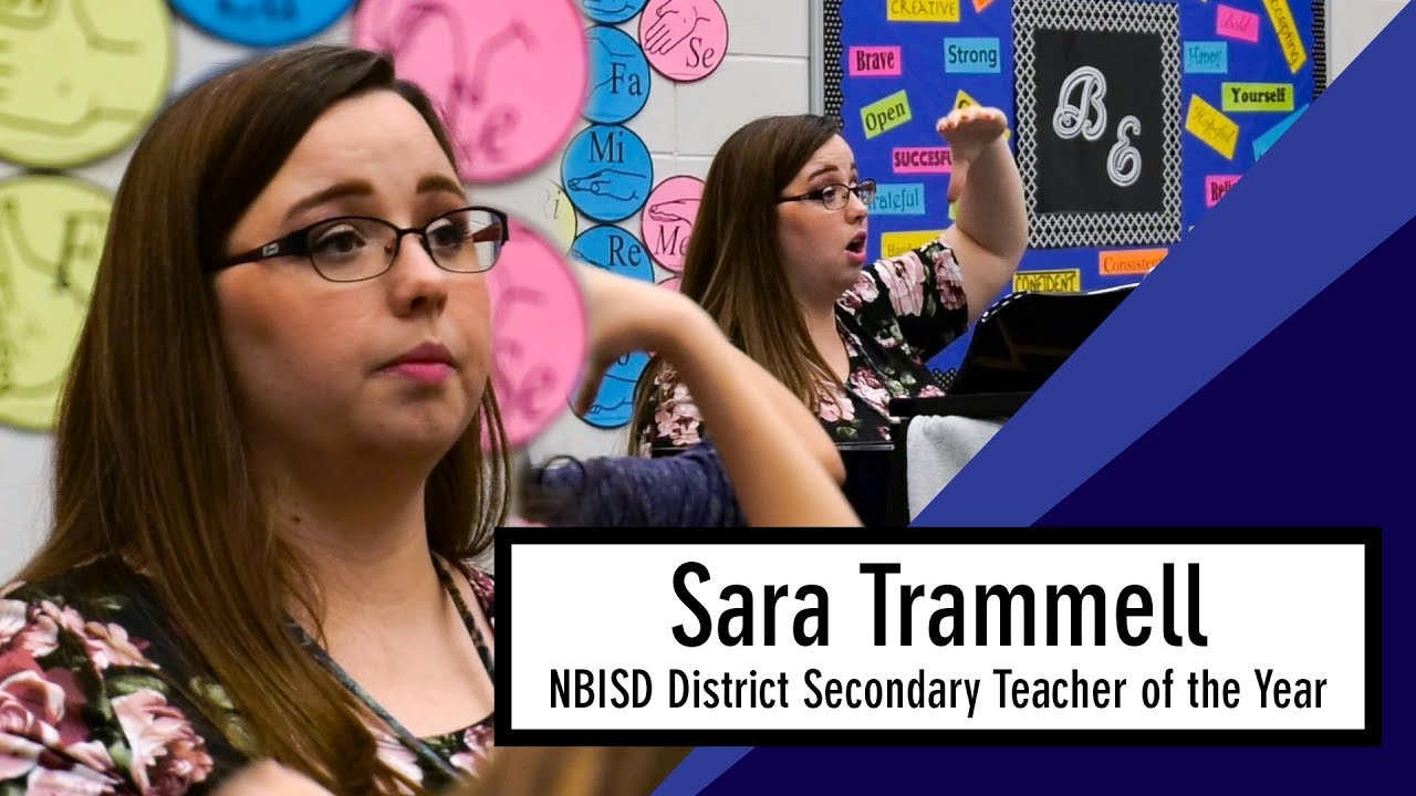 2018 NBISD District Secondary Teacher of the Year